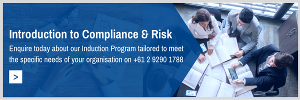 Introduction to compliance and risks